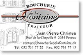 Boucherie de la Fontaine Peseux